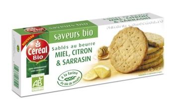 Gerble Biscuiti BIO unt, miere si lamaie