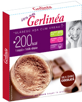 Gerlinea Milkshake ciocolata, inlocuitor de masa - 1 masa