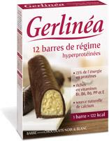 Gerlinea Snack Batoane dietetice ciocolata alba si neagra