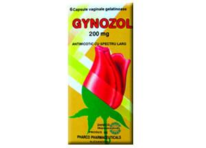 Gynozol 200 mg capsule vaginale
