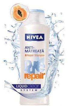 Sampon Anti-Matreata Nivea Pure Repair