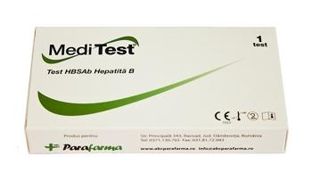 Test HBSAb Hepatita B