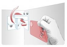 Siguranta magnetica pentru dulapuri si sertare