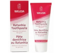 Pasta de dinti naturala cu ratanhia Weleda