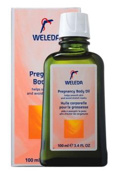 Ulei de corp pentru sarcina Weleda