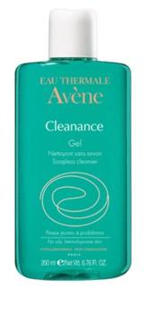 Avene Cleanance gel de curatare seboregulator fara sapun x 200 ml