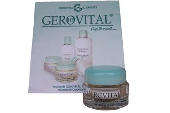 Crema emolienta ochi gerovital H3 Sylver STOC 0