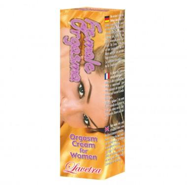 Crema pentru stimularea orgasmului feminin