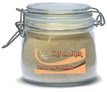 Unt de Shea Scrub Anticelulitic 100% natural
