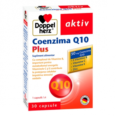 Doppelherz Aktiv Coenzima Q10 Plus (30 capsule)