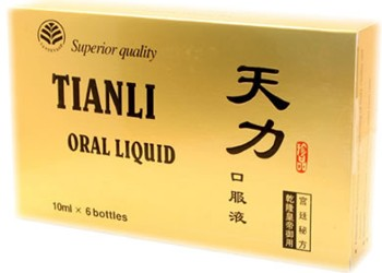 Natural Potent 6 fiole Tianli