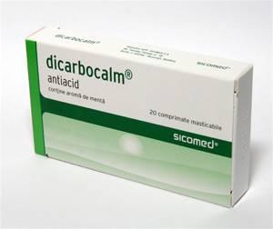 Dicarbocalm 20 comprimate Zentiva