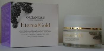 Eternal Gold Crema antirid de noapte cu aur