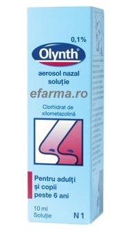 Olynth spray nazal 1% peste 6 ani si adulti