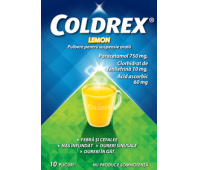 Coldrex lemon 10 plicuri
