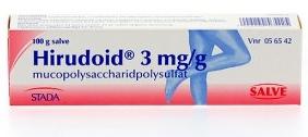 Hirudoid gel