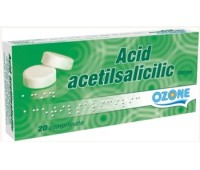 Acid Acetilsalicilic 0.5 gr