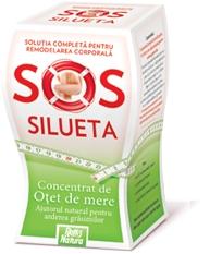 SoS Silueta Concentrat de otet de mere