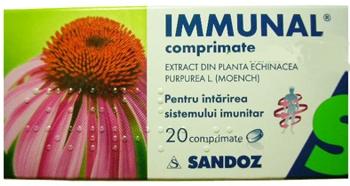 Immunal comprimate
