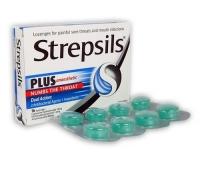 Strepsils Plus X 16 pastile