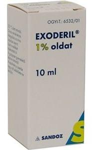 Exoderil Solutie 1%