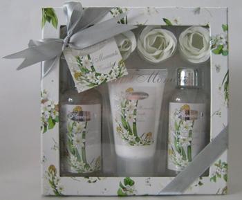 Set floral Silver