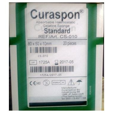 Curaspon Burete Hemostatic Standard x 20 buc