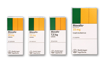 Movalis X 6 supozitoare 15 mg