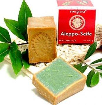 Sapun de Alep cu Dafin 16% Antiacneic