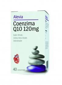 Coenzima Q10 120mg x 40 cps, Alevia
