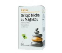 Ginkgo biloba cu magneziu x 60 cpr