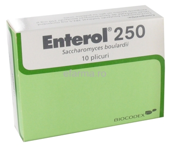 Enterol Plicuri de 250 mg
