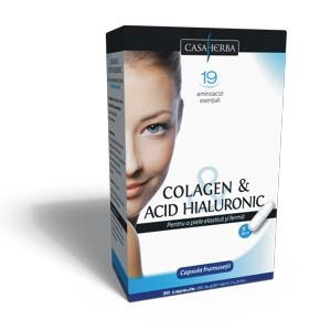 Colagen + Acid Hialuronic 30 cps