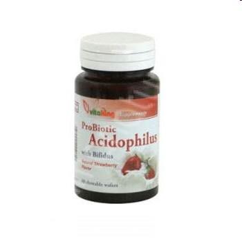 Acidophilus masticabil (60 tablete)