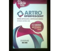 Artro Efervescent Plus Calciu 1000 3 Tuburi