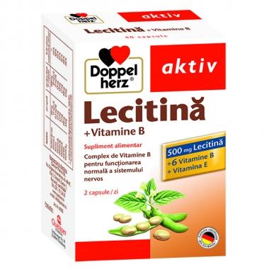 DoppelHerz Lecitina, Vitamina B, Vitamina E *40 tablete